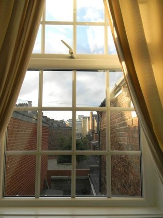 Beechwood Guest House: Room with a view, very private, no other windows looked onto this.