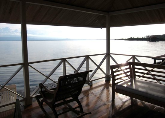 Bocas Villas : view from bungalow
