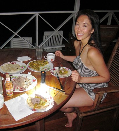 Bocas Villas : sometimes the best restaurant is at home