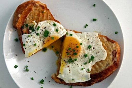 The Historic Pacific: Croque Madame