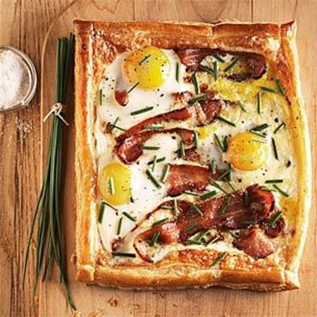 The Historic Pacific: Breakfast Tart
