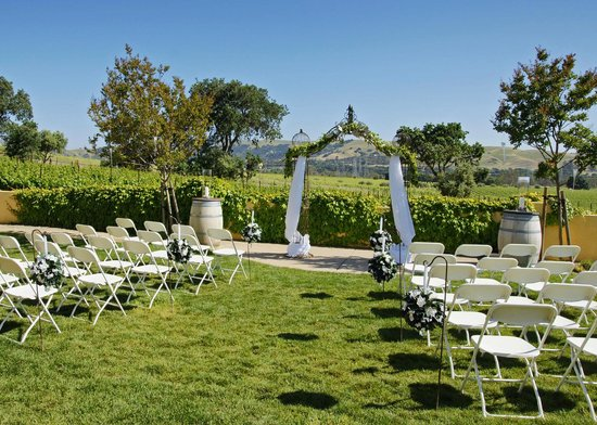 Lawn Space Set Up For Wedding Picture Of Las Positas Vineyards