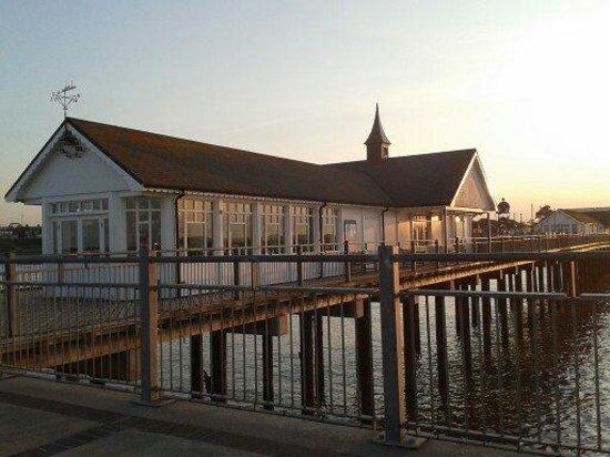 The Boardwalk Restaurant: Southwold Pier + Boardwalk