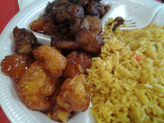 Mayport Garden Chinese Restaurant: sweet sour chicken