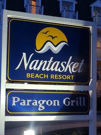 Nantasket Beach Resort : front sign