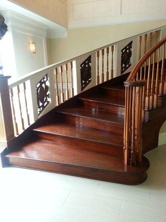 Nantasket Beach Resort : One of the stairwells