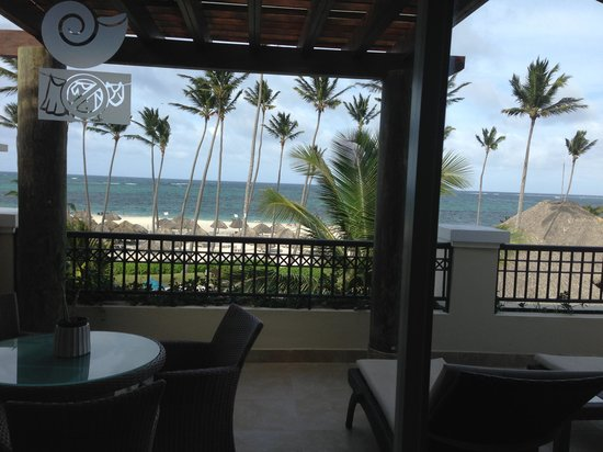Now Larimar Punta Cana: View from our suite