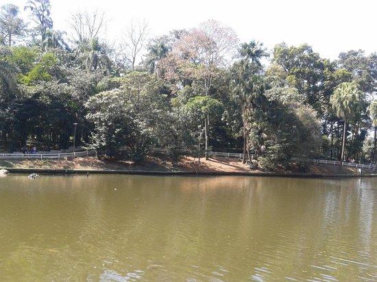 Parque Estadual da Cantareira: Vista do lago