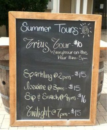 Trius Winery: tour