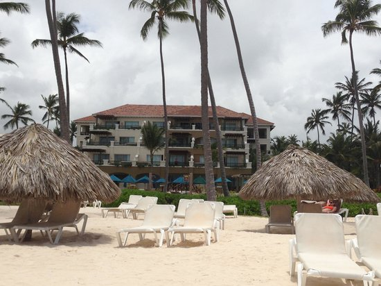 Now Larimar Punta Cana: Our suite was the middle deck on the third floor