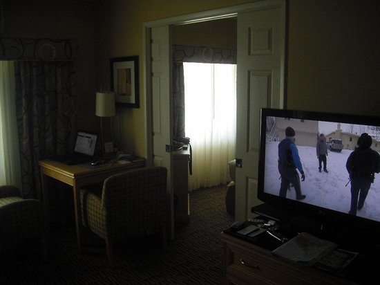 The Kinney: wohnbereich trennbar zum Schlafzimmer