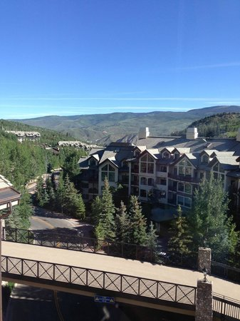 Beaver Creek Lodge: View from room