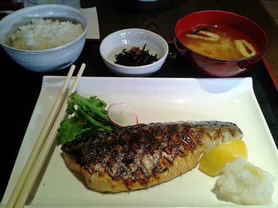 Geko-Tei: Grilled saba