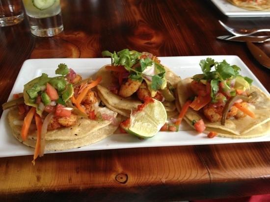 Lambert's of Taos : DELICIOUS Shrimp Tacos!