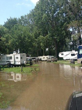 Camper Village at Cedar Point Aufnahme