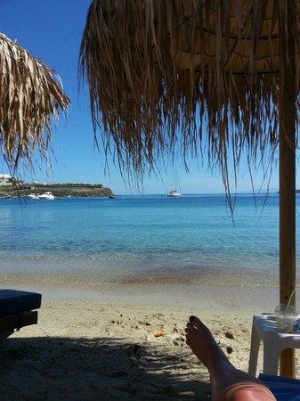 Anemos Hotel-Apartments & Studios: Ornos Beach, so close to Anemos Apartments