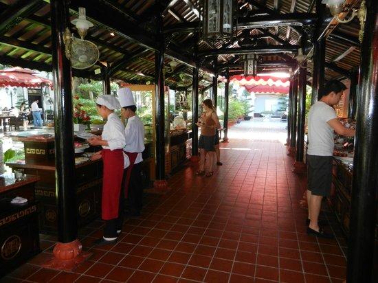 Hotel Saigon Morin: Petit déjeuner