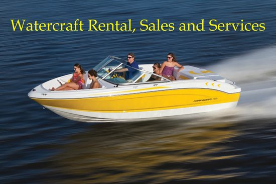 Watercraft Rentals: All new 2013 Chaparral boats