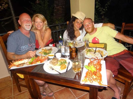 Seagull Cove Resort: Dinner with friends