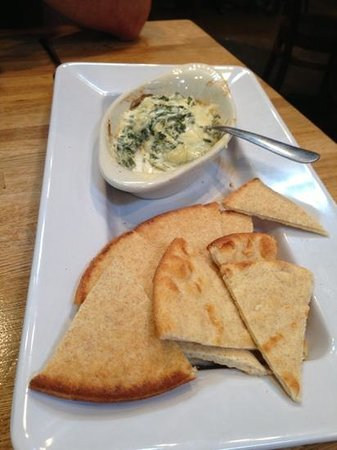 Spinach Dip Picture Of Mellow Mushroom Chattanooga Downtown Tripadvisor