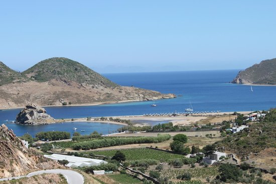Theologos Houses : Grikos bay and Petra beach