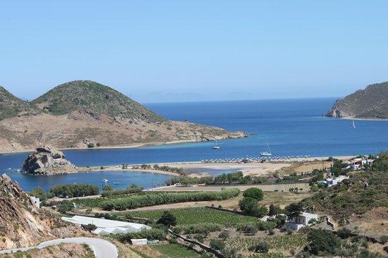 Theologos Houses: Grikos bay and Petra beach