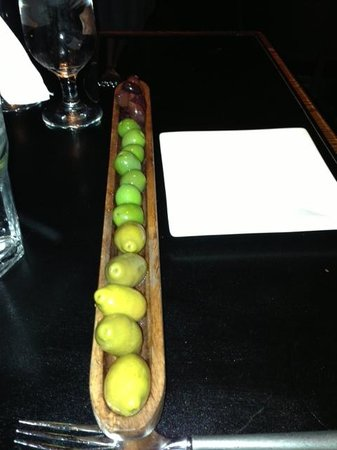 Tabernash Tavern : Fabulous Olives!