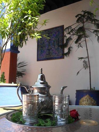 Riad Koutoubia : coté terrasse