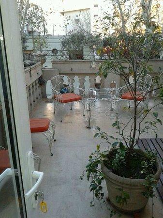 Rendez Vous Hotel Buenos Aires: terraza exclusiva de la habitación