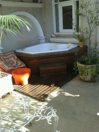 Rendez Vous Hotel Buenos Aires: jacuzzi en la terraza