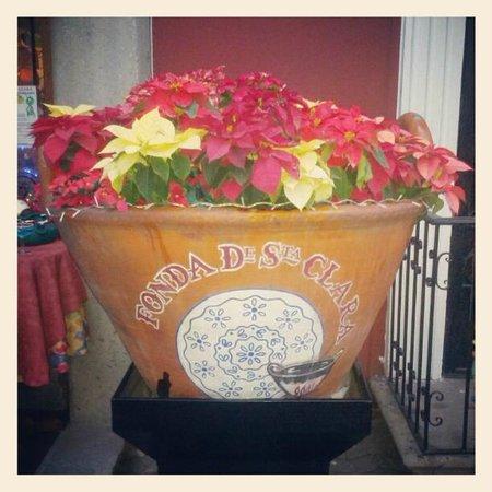 Fonda de Santa Clara - Angelopolis: Arreglo de Navidad
