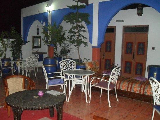Riad Koutoubia : terrasse