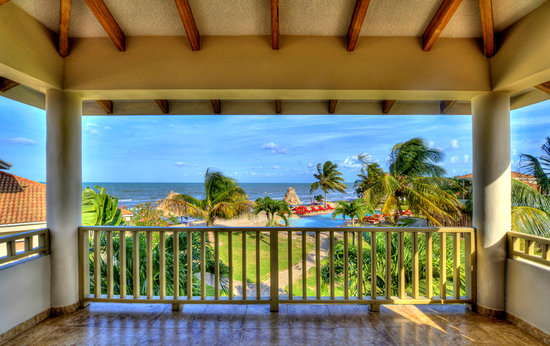 Hopkins Bay Resort: 1-Bedroom Beach Loft - View