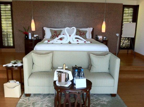 Raffles Seychelles : fantastic seaview villa