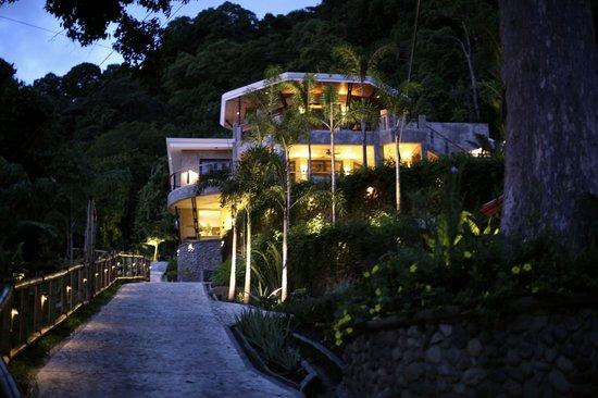 Punta Gabriela: main house