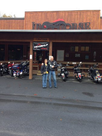 Iron Horse Motorcycle Lodge : ready to leave