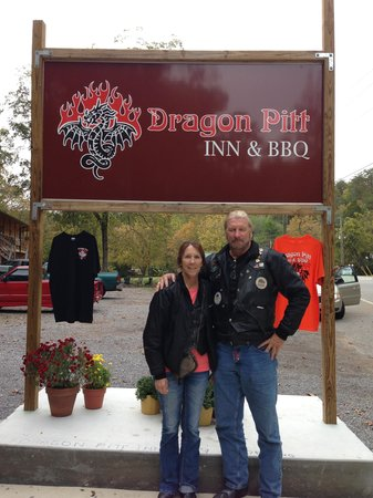 Iron Horse Motorcycle Lodge : on our way to the dragon