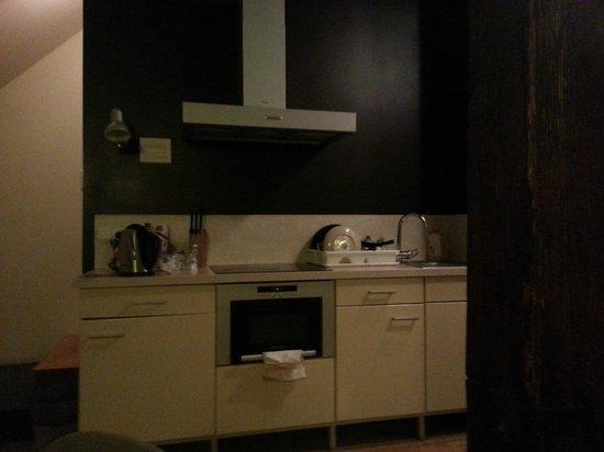 Czech Inn: kitchen