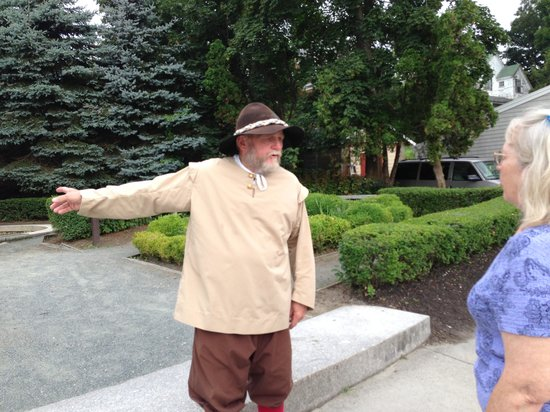 Jenney Museum : Leo the Miller starting the tour