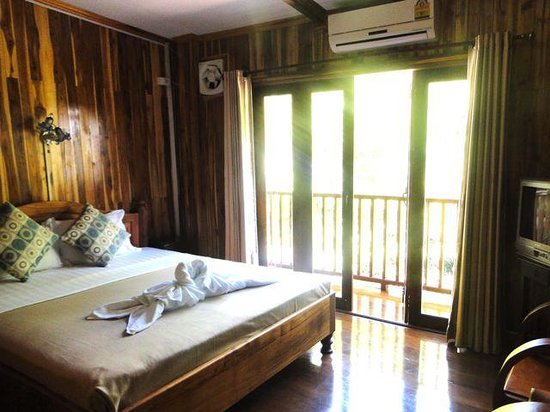 Rimwang Guesthouse: Rimwang double luxe with balcony (room 7 or 8)