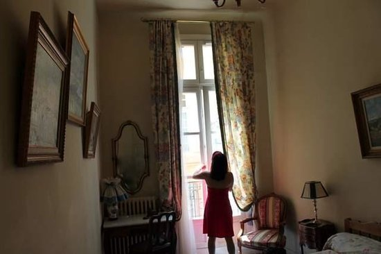 Hôtel Cardinal : our room's balcony