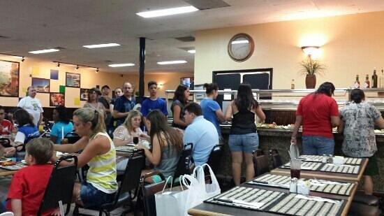 Camila's Restaurant : buffet