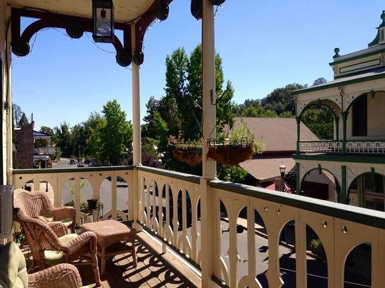 1859 Historic National Hotel: Great balcony