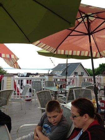 Grampa Tony's: view from Grandpa Tony's deck.