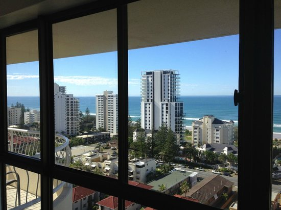 Capricornia Apartments: view from room 65