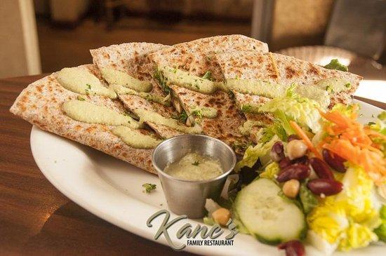 Kane's Family Restaurant: Kane's Veggie Mex Vegetarian Quesadilla