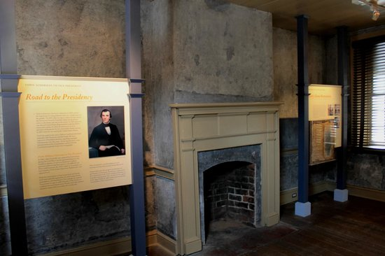 Andrew Johnson National Historic Site: Timeline inside the first home