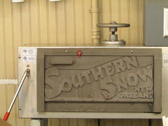 new orleans snoball machine