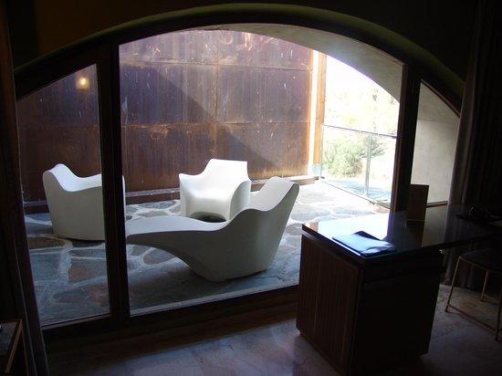 Hospederia Conventual de Alcantara: Terraza de la habitación doble superior