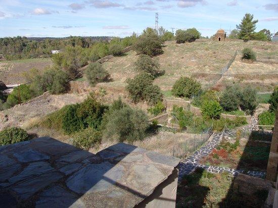 Hospederia Conventual de Alcantara: Vistas desde la habitación